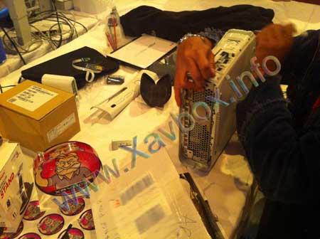 demontage xbox 360